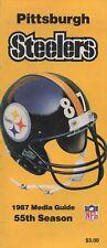 1987 guía de medios de Pittsburgh Steelers 55th Edición