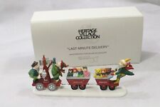 "Department 56 Heritage Village ""Last Minute Delivery "" #5636-7 Mint"