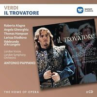 IL TROVATORE - ALAGNA/GHEORGHIU/HAMPSON/PAPPANO/LSO HOME OF OPERA 2 CD NEW!