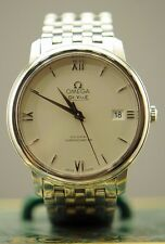OMEGA DE VILLE CO-AXIAL CHRONOMETER STAINLESS STEEL 37MM AUTOMATIC WATCH