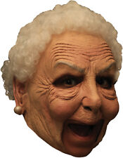Mrs. Santa Claus, Granny Deluxe Chinless Adult Latex Old Woman Mask TB27541