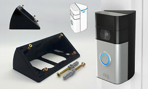 40°Angle Wedge for Ring Doorbell ANGLE MOUNT Ring 1 2 3 Plus 4 40 Degrees