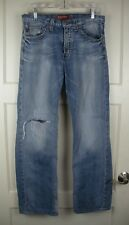 Buckle BIG STAR Eastman Easy Straight Distressed Jeans Men's Size: 32R