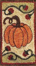 "Punchneedle Pattern by Jeri Kelly ""Autumn""  (3"" x 5"" Pumpkin)"