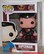 "FUNKO POP DC UNIVERSE MAN OF STEEL SUPERMAN #29 Vinyl 3 3/4"" Figure IN STOCK"