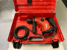 Hilti TE7 corded concrete rotary hammer drill with case.
