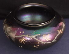 *LOETZ Large vase en verre irisé  art nouveau  ガラスの瓶玉虫色の日本の最先端の新しい