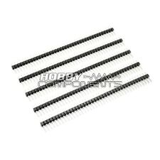 5x Arduino Single Row 40 Way / Pin 2.54mm Pitch Pin Headers