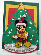 Disney Pins WDW Spectacle of Lights 2001 MICKEY LE 5000