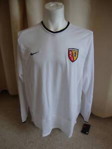 Lens 2002 - 2003 Player Grade Away Football Soccer Shirt by Nike - XL