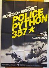 POLICE PYTHON 357 (A0-Pl. '76) - YVES MONTAND / SIMONE SIGNORET