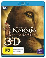 Chronicles Of Narnia - The Voyage Of The Dawn Treader 3D : NEW Blu-Ray 3-D
