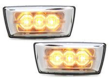Opel Astra H  LED Seitenblinker Chrom Klar Glas E.Prüfzeichen Ab Baujahr 2012-
