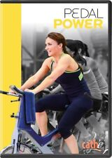 CATHE FRIEDRICH PEDAL POWER STATIONARY BIKE DVD NEW SEALED WORKOUT EXERCISE