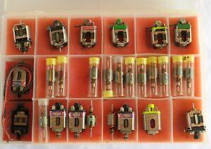 Vtg Lot of Slot Car motors & Parts Very Nice