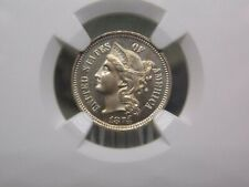 1874 Three Cent Nickel 3CN NGC MS64  East Coast Coin & Collectables, Inc.