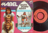 "Mabel / Skate Board Rider / F.B.I. On The Nail 7"" Single Vinyl 1978"
