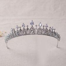 Lux Wedding Bridal Bridesmaid Prom Party Crystal Rhinestone Queen Tiara Crown