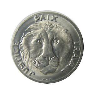 elf  Congo Democratic Republic 10 Francs 1965 Lion