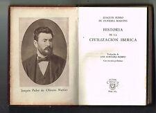 Joaquin Pedro De Oliveira Martins Historia Civilizacion Iberica Aguilar Minibook