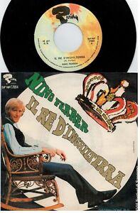 NINO FERRER Il re d'Inghilterra 45rpm 7' + PS 1968 ITALY MINT- Sanremo 68