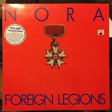 NORA Foreign Legions Promo - N. Mint LP The New York Music Company – NYM 5
