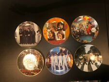 Beatles Collector Plates Let It Be, Sgt Pepper, Hey Jude, Abby Road & More! Coa!