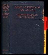 1916 LOVE LETTERS of an ANZAC Soldier at GALLIPOLI TROOPER BLUEGUM (Oliver Hogue