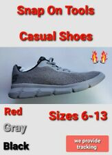 snap on tools casual shoes 3 COLORS to choose from unisex comfy sizes 7-13 NEW!