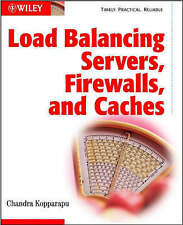 Very Good, Load Balancing Servers, Fire Walls and Caches, Kopparapu, Chandra, Bo