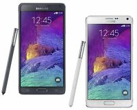 Unlocked Samsung Galaxy Note 4 N910V Smartphone Bell Rogers Fido Telus Koodo