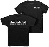 Area 51 t-shirt, Engineer t-shirt, UFO, CIA, Conspiracy, Space, NASA, Alien, FBI
