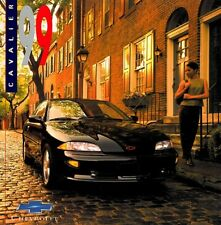 1999 Chevrolet Cavalier and Z24 24-page Original Car Sales Brochure Catalog