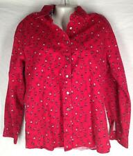 WRANGLERS Western Wear for Women red rodeo cowboy shirt top size XL