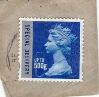GB 2010 Royal Mail Special Delivery up to 500g stamp used  MA10 SG U3052 clean