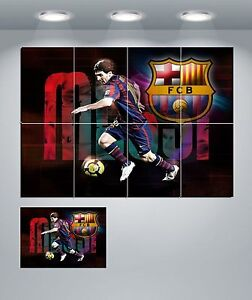 """Lionel Messi Barca Giant Wall Art Poster Print """"NEW"""""""