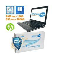 """NOTEBOOK DELL LATITUDE E7240 I7 4600U 12,5"""" HDMI SSD M.SATA BATTERIA NUOVA-"""
