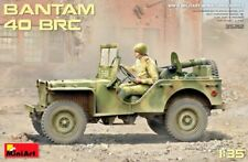 MINIART 35212 AMERICAN MILITARY JEEP BANTAM BRC 40 PLASTIC MODEL KIT SCALE 1/35