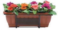 fioriera Balconi fioriti vaso rettangolare 50 cm in ferro battuto da balcone