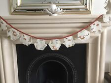 HOMEMADE ! HARTLEY HARE BUNTING 225 CM LONG 10 FLAGS 12 CM X 15 CM 12//04.//
