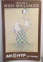 Graciela Rodo Boulanger Vintage poster HOME KONINGIN FABIOLA 1976