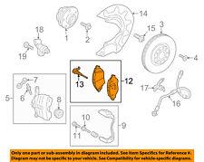 AUDI OEM 16-17 A3 Sportback e-tron Brake-Front Pads 8V0698151G
