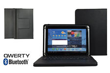 "10.1"" Bluetooth Keyboard Case Book Cover For Samsung Galaxy Note (2014) - Black"