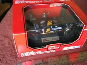 Vintage 1994 Racing Champions 1:43 Rusty Wallace #2 Ford Motorsport Pit Stop