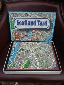 Vintage Scotland Yard Board Game 1983 Complete Excellent Condition