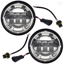 "Eagle Lights Chrome 4.5"" Motorcycle LED Passing Lights - Harley Davidson"