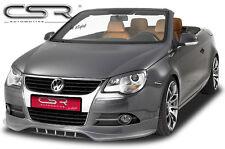Spoiler Frontspoiler Lippe Frontansatz für VW EOS -