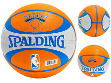 Spalding New York Knicks Official Size Team Outdoor Basketball