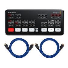 Blackmagic Design ATEM Mini Pro HDMI Live Stream Switcher Bundle