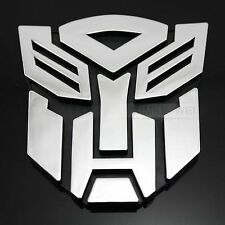 Transformers Autobot 3D Logo Emblem Badge Decal Car Sticker New